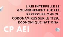 L'AEI interpelle le Gouvernement sur les répercussions du Coronavirus sur le tissu économique national