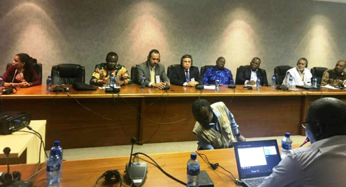 مشاركة فاعلة للأخ عبداللطيف أبدوح في الدورة الاستثنائية الرابعة للبرلمان الإفريقي