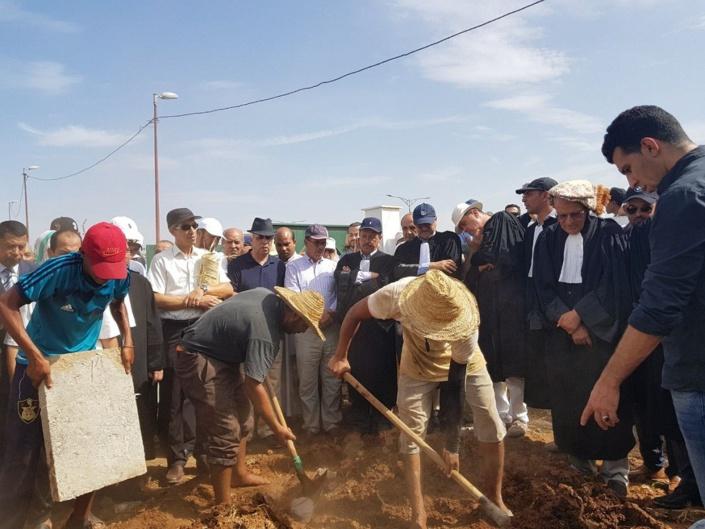 تشييع جنازة الفقيد الكبير محمد بن عبدالهادي القباب بالرباط