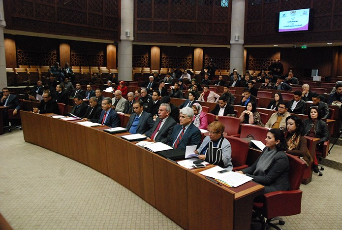 """كلمة  الدكتور نور الدين مضيان خلال المائدة المستديرة حول """" وضعية حقوق الإنسان بالمغرب بين التنظير والممارسة """""""