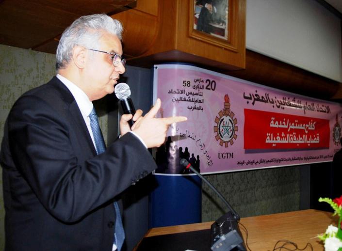 في كلمة الأخ نزار بركة الأمين العام لحزب الاستقلال بمناسبة الذكرى 58  لتأسيس الاتحاد العام للشغالين بالمغرب