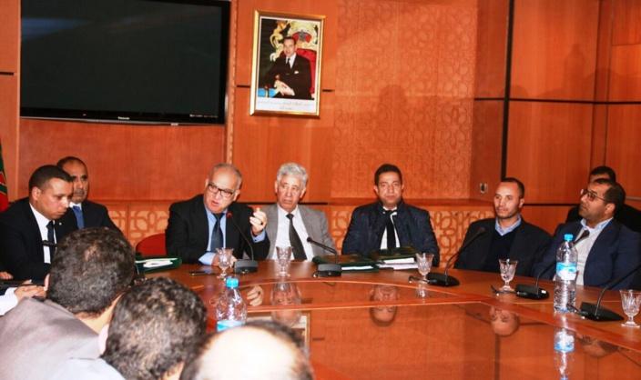 محامون متدربون من مكناس في ضيافة الفريق الاستقلالي بمجلس النواب