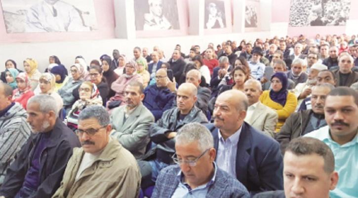 الأخ فؤاد قديري يترأس أشغال المجالس الإقليمية لحزب الاستقلال بالدار البيضاء