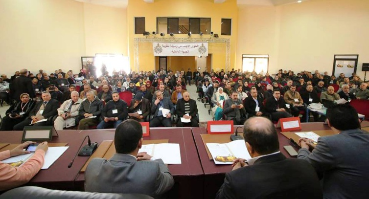 الاتحاد العام يؤكد انخراطه في  إنجاز برنامج تنموي  ينهض بالمناطق الحدودية