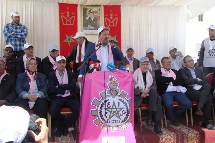 الأخ النعم ميارة يؤكد أن العرض الحكومي هزيل والاتحاد العام لن يوقع على شهادة وفاة العمل النقابي