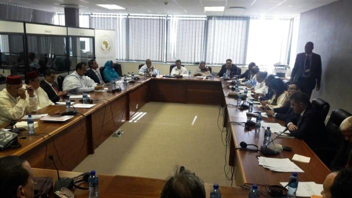 الأخ عبداللطيف أبدوح يؤدي القسم إلى جانب أربعة برلمانين مغاربة باعتبارهم أعضاء رسميين برلمان عموم افريقيا