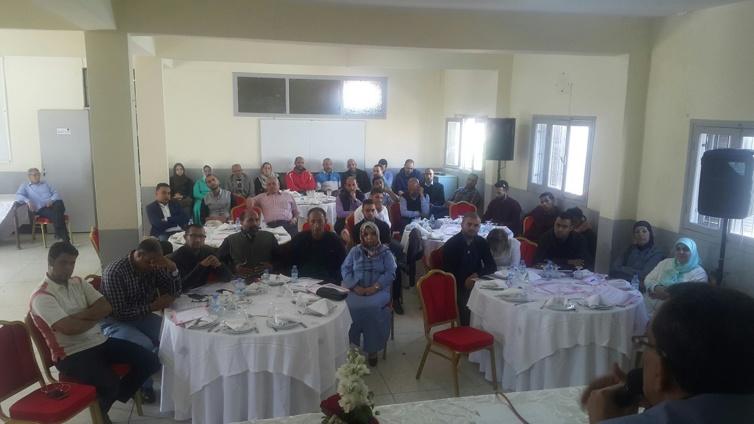 """""""الشباب ورهان المشاركة السياسية"""" في المنتدى الإقليمي للتكوين والتأطير للشبيبة الاستقلالية بالدار البيضاء"""