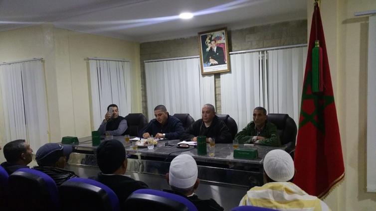 مفتشية الحزب في نشاط تواصلي مع سكان جماعة ابرارحة اقليم تازة