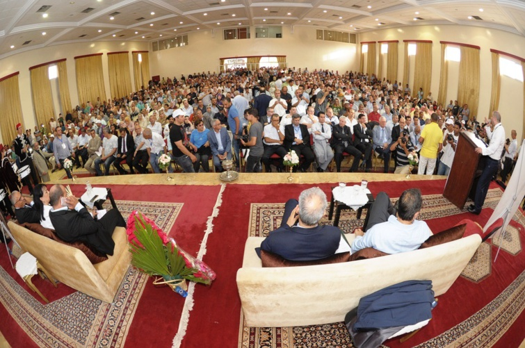 في كلمة للأخ نزار بركة خلال لقاء تواصلي مع مناضلي ومناضلات الحزب بجهة الدار البيضاء سطات