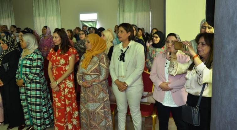 منظمة المرأة الاستقلالية تتبنى قضية نساء معبر باب سبتة
