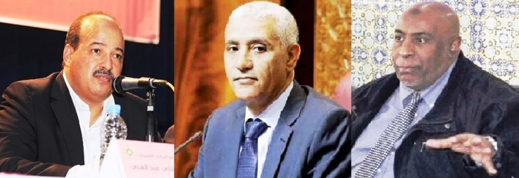 الأخوان النعم ميارة وأحمد بلفاطمي يجتمعان مع  وزير الشباب والرياضة والكاتبة العامة للوزارة