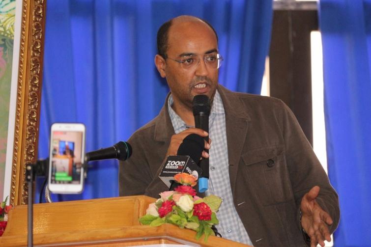 الأخ سيدي حمدي ولد الرشيد يستعرض واقع التنمية بإقليم  بوجدور وجماعاته الترابية