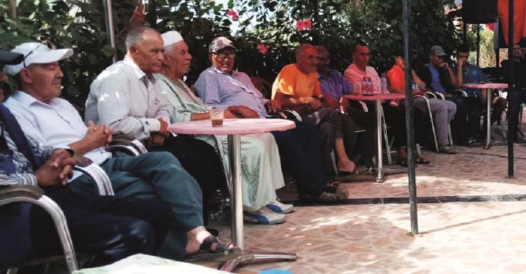 الأخ عزيز هيلالي يترأس  الجمع العام لفرع حزب الاستقلال بجماعة سوق الثلاثاء