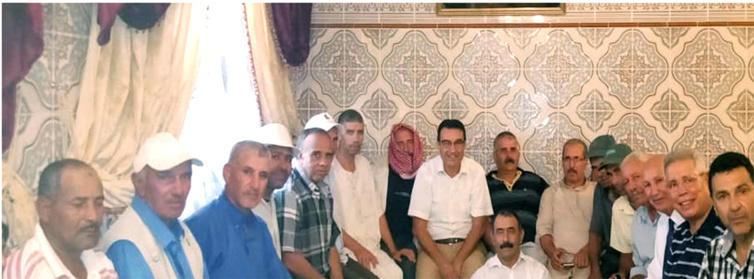 الأخ عزيز هيلالي يترأس الجمع العام لتجديد فرع حزب الاستقلال بعرباوة