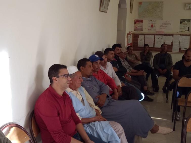 الاخ ابراهيم لشكر مبعوث اللجنة التفيذية يترأس اشغال المجلس الاقليمي لحزب الاستقلال بتزنيت