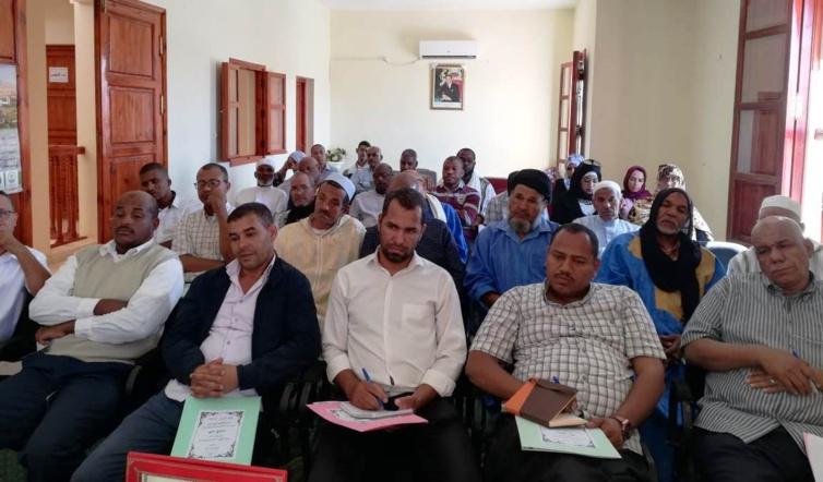 الأخ محمد قاصد مبعوث اللجنة التنفيذية يترأس  أشغال المجلس الإقليمي لحزب الاستقلال  بطاطا