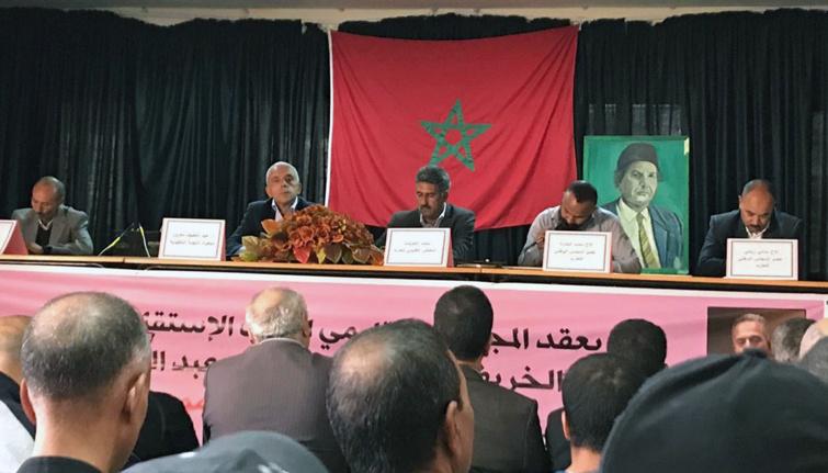 الأخ عبداللطيف معزوز يترأس أشغال المجلس الاقليمي لحزب الاستقلال لبولمان