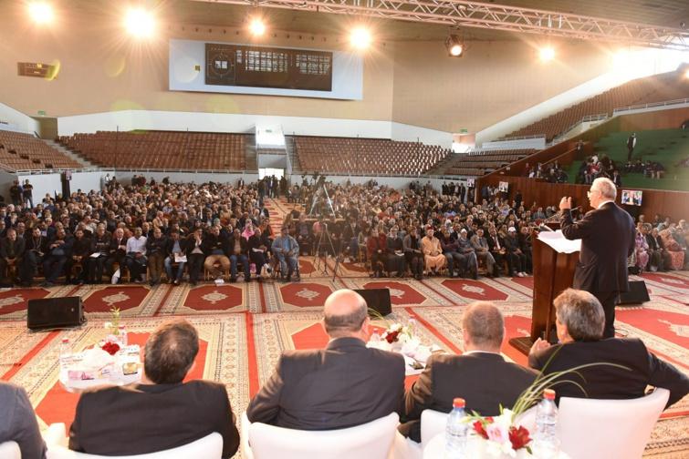الأخ نزار بركة: نتطلع إلى  قيام اللجنةُ المركزية بأدوارها الدراسية والاقتراحية  في تكامل وتعاون مع باقي الأجهزة التقريرية والتنفيذية للحزب