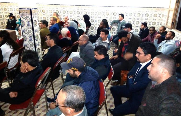 الأخ عزيز هيلالي يترأس  الجمع العام لفرع حزب الاستقلال بحصين ـ سلا