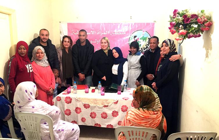 الأخت زينب قيوح تترأس الجمع العام لفرع منظمة المرأة الاستقلالية بالجماعة الترابية لأولوز بتارودانت