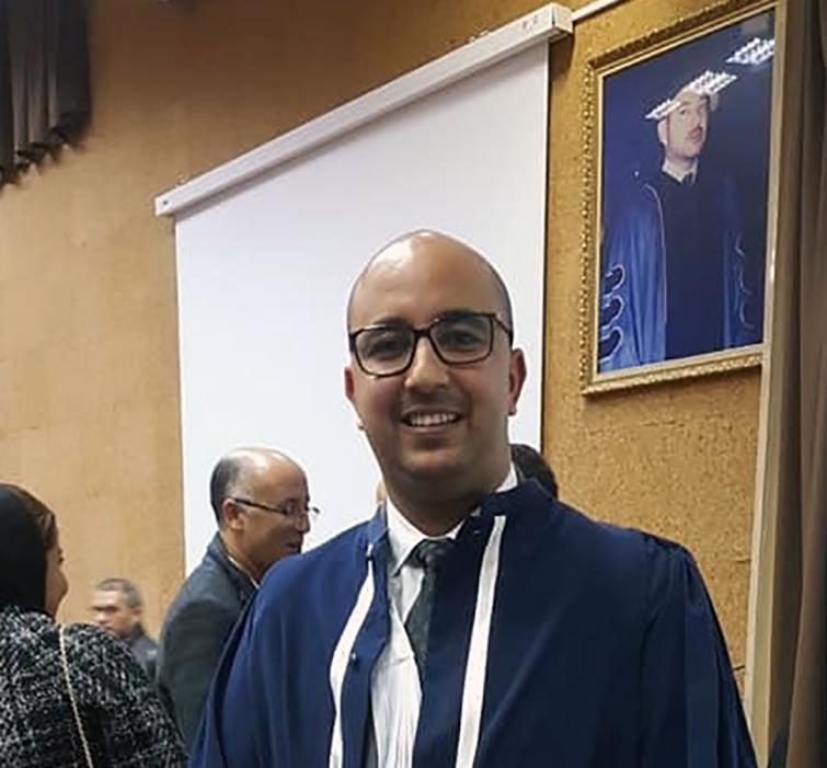 الأخ أسامة الأنصاري ينال شهادة الدكتوراه في العلوم القانونية