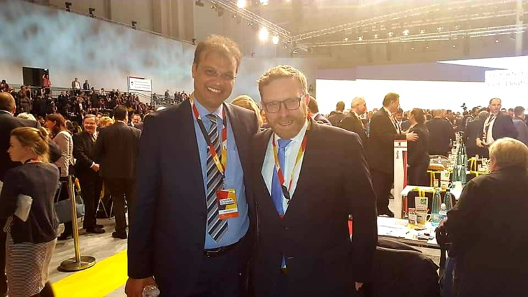 الأخ رحال المكاوي ممثلا لحزب الاستقلال في أشغال المؤتمر العام للحزب المسيحي الديمقراطي الألماني