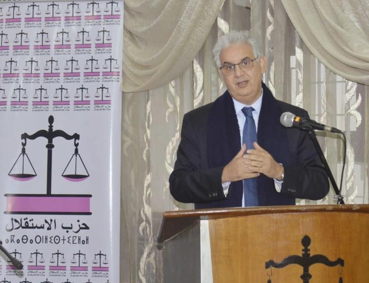 """في تصريح خاص للأخ نزار بركة لموقع """"استقلال.انفو"""" على خلفية الجريمة النكراء نواحي مراكش"""