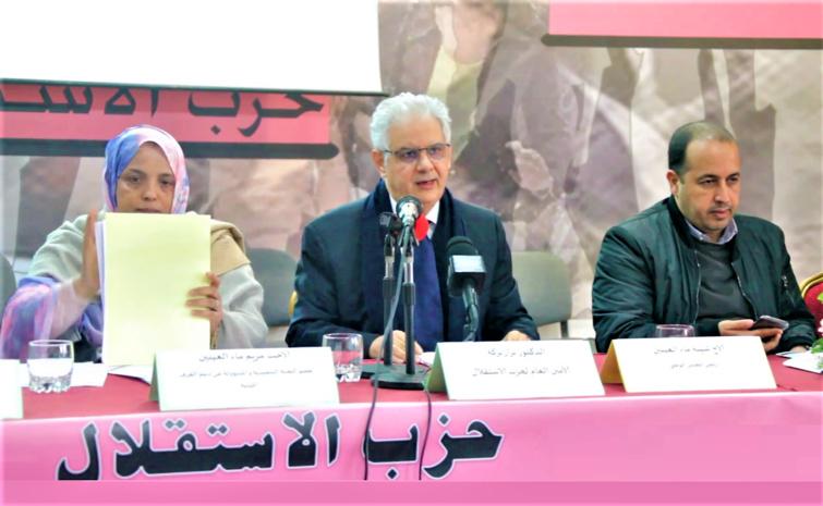 الأخ نزار بركة: الغرف المهنية بحاجة إلى تمكينها من المساهمة الفاعلة في أوراش الإصلاح والتنمية