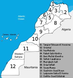مونوغرافيا الجهات 12 للمملكة هي وثائق تقدم معطيات عامة عن الجهات