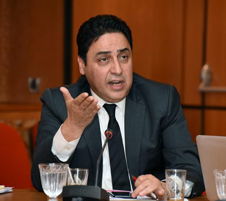 الأخ عمر حجيرة : الوضعية الاقتصادية الراكدة للجهة الشرقية تتطلب برنامجا استثماريا عاجلا