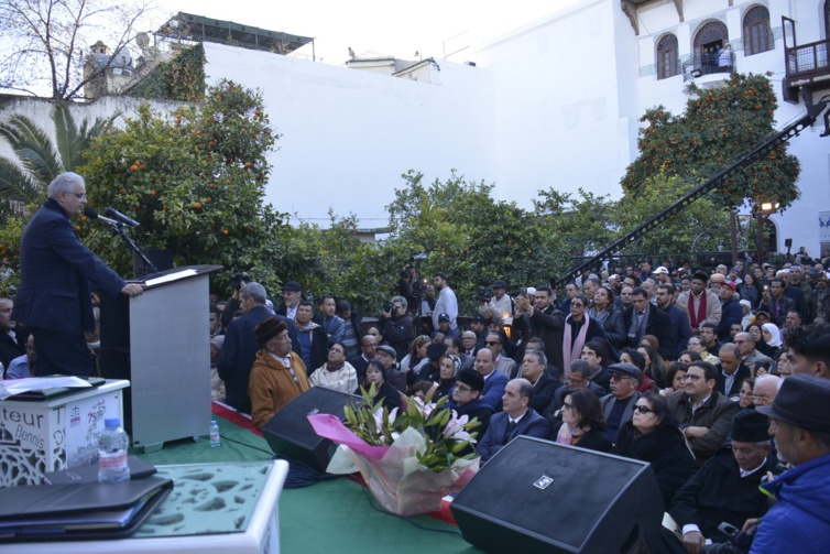 نزار بركة من دار المجاهد المرحوم الحاج احمد مكوار يعدد دلالات ذكرى 11 يناير التاريخية والسياسية ويدعو للإنخراط الجاد في تعاقدات مجتمعية جديدة في أفق تنزيل النموذج التنموي الجديد