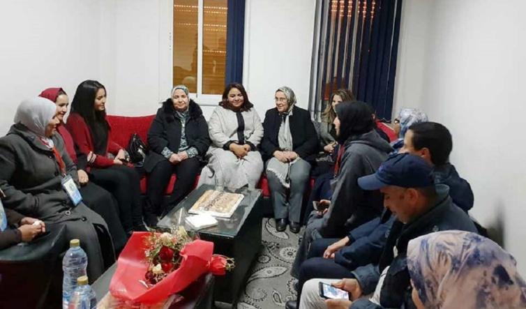 الأخت خديجة الزومي تترأس لقاء تواصليا مع فرع منظمة المرأة الاستقلالية بقلعة السراغنة