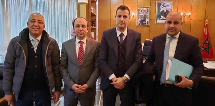 منتخبو حزب الاستقلال ببرشيد  يعقدون لقاء مع وزير الصحة لمعالجة مشاكل القطاع بالإقليم