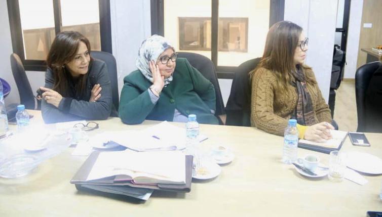 المكتب التنفيذي لمنظمة المرأة الاستقلالية يصادق على برنامج مكثف خلال شهري فبراير ومارس 2019
