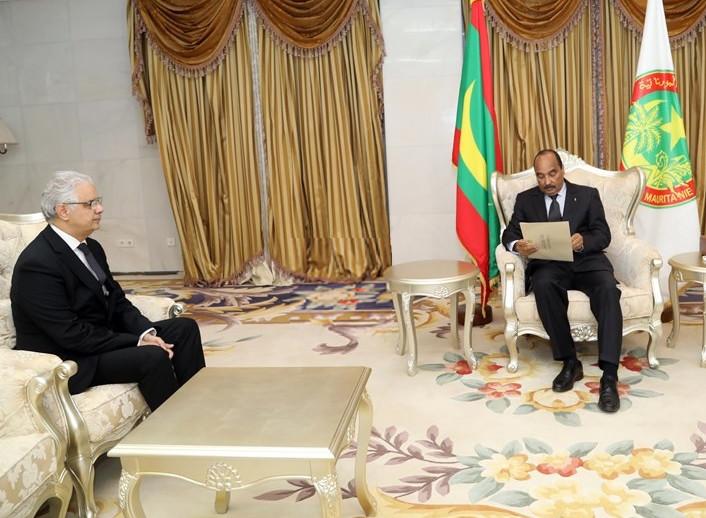 نواكشط.. الأخ نزار بركة يسلم رسالة خطية من جلالة الملك محمد السادس إلى فخامة رئيس الجمهورية الاسلامية الموريتانية