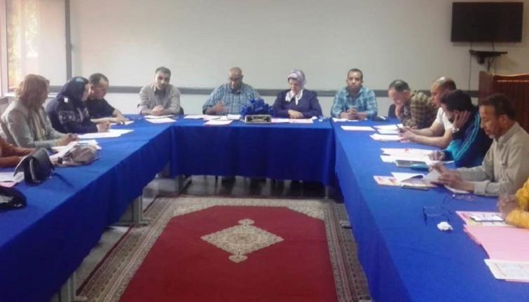 اجتماع المكتب التنفيذي للجامعة الوطنية لموظفي وأعوان وزارة الشباب والرياضة