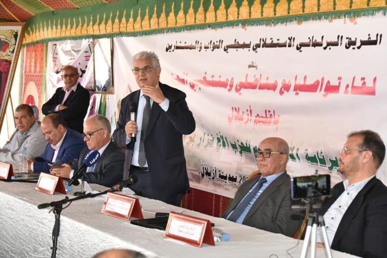 الاخ عبد السلالم اللبار: غياب الإرادة الحقيقية لمعالجة مشاكل أزيلال في مختلف مجالات الحياة