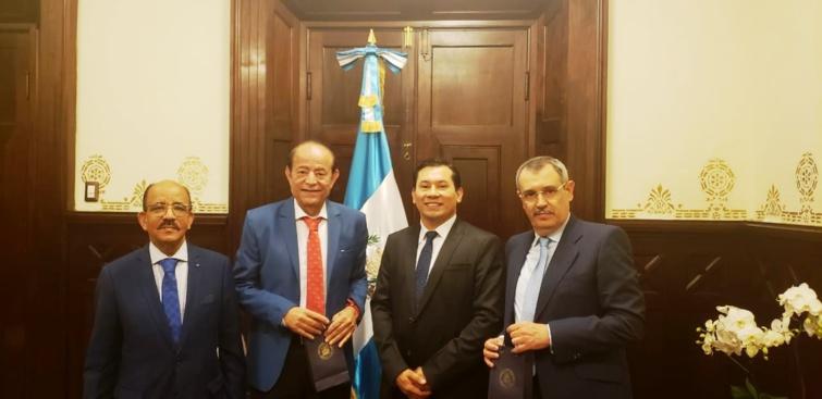 الأخ أحمد الخريف ضمن وفد عن مجلس المستشارين في زيارة إلى العاصمة غواتيملا