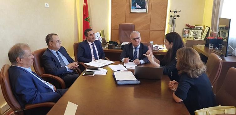 النقابة الوطنية لأطباء العيون بالقطاع الخاص بالمغرب في ضيافة الفريق الاستقلالي