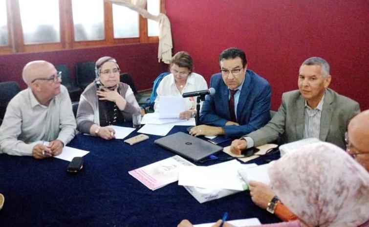 في الدورة الخامسة للمجلس الوطني للعصبة المغربية للتربية الأساسية ومحاربة الأمية