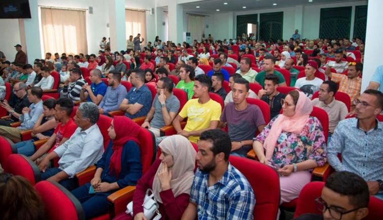 في  المؤتمر الجهوي لمنظمة الشبيبة الاستقلالية لجهة بني ملال خنيفرة