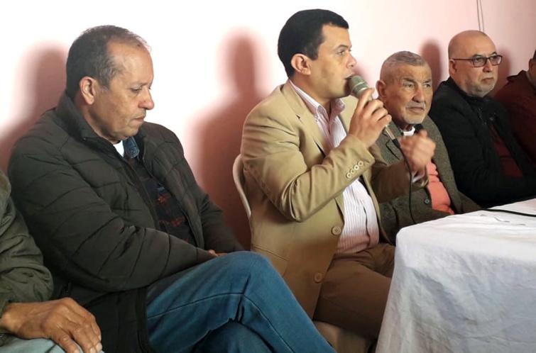 انعقاد المؤتمر المحلي لفرع حزب الاستقلال  بجماعة أولاد داحو ب'نزكان أيت ملول