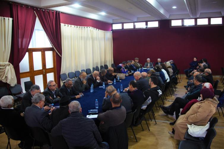 الأخ نزار بركة يعقد اجتماعا تنظيميا هاما مع أعضاء وعضوات المجلس الوطني للحزب بمدينة فاس