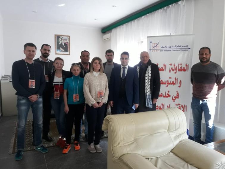 الأخ مولاي أحمد أفيلال يستقبل عددا من رجال الأعمال الروس بالمقر المركزي للاتحاد العام للمقاولات والمهن بالدار البيضاء