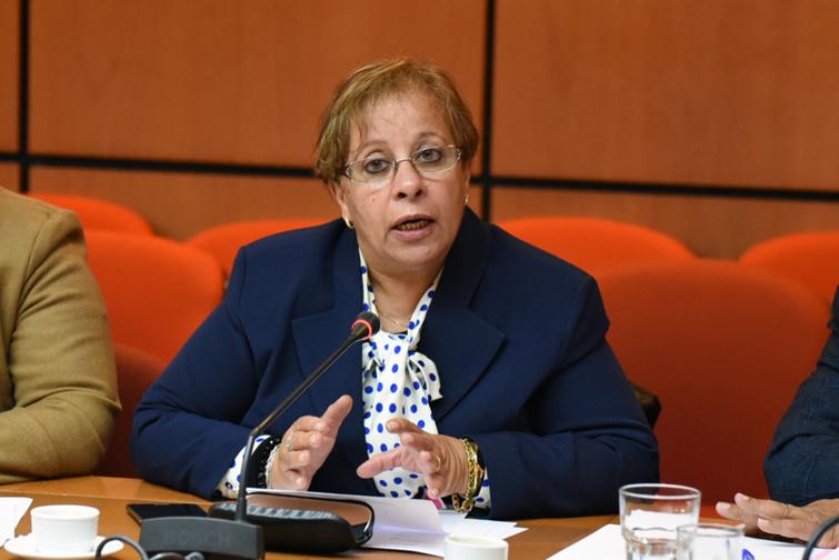 الأخت عبلة بوزكري : بطء وتيرة التحول الرقمي للخدمات القضائية يسهم في نقص الخدمات