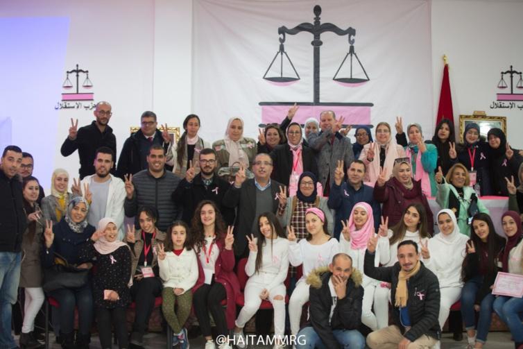 منظمة المرأة الاستقلالية بطنجة تنظم لقاءا للتحسيس والتوعية بخطورة سرطان الثدي وعنق الرحم