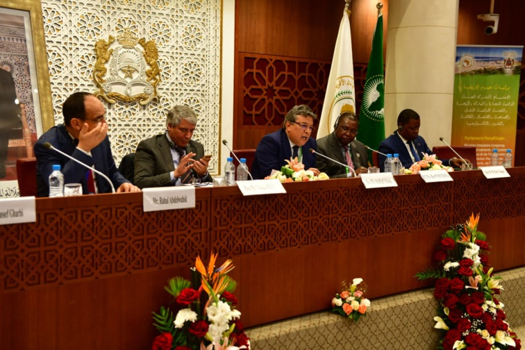 الأخ عبد اللطيف أبدوح يترأس أشغال الاجتماع المشترك للجنتين الدائمتين لبرلمان عموم إفريقيا بالرباط