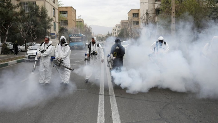 منظمة الصحة العالمية توصي بعدم رشّالمطهرات في الشوارع لأنها لا تقضي على فيروس كورونا المستجد وتنطوي على مخاطر صحية