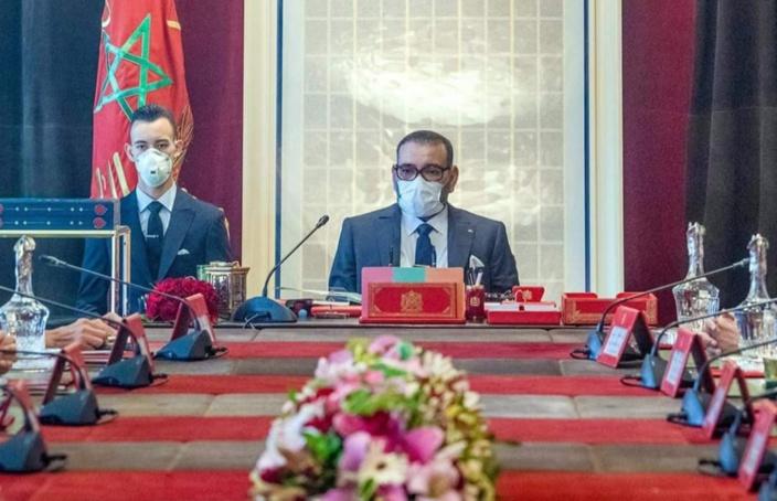 جلالة الملك محمد السادس يترأس مجلسا وزاريا بالقصر الملكي بالرباط