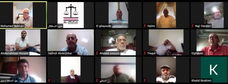 الدكتور عبد الجبار الرشيدي عضو اللجنة التنفيذية للحزب والمنسق الجهوي في اشغال  المجلس الإقليمي لحزب الاستقلال  بإقليم وزان